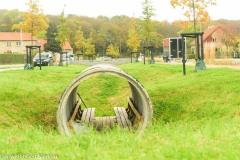 Fritlagt bunker Riisvangen oktober 2019